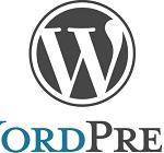 Imagen logotipo de wordpress