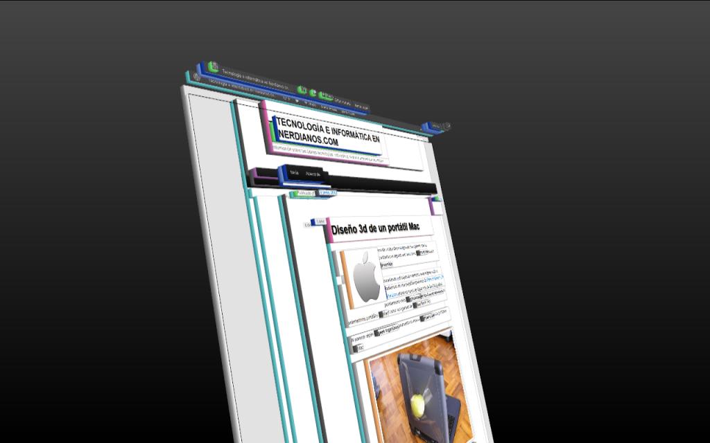 Captura visión de entrada en wordpres - vista en 3d