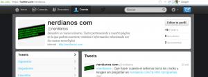 Configurar el nuevo formato de la cabecera de perfil en twitter antes de cambiar