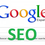 Logo Google aplicando optimización para buscadores seo