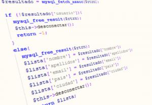 Codigo ejemplo PHP acceso por indice textual, resultadso mysql